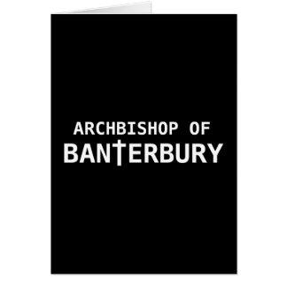 Archbishop of Banterbury 2 Card