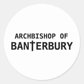 Archbishop of Banterbury 2 Classic Round Sticker