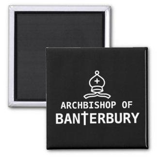 Archbishop of Banterbury 2 Inch Square Magnet