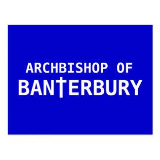 Archbishop of Banterbury 2 Postcard
