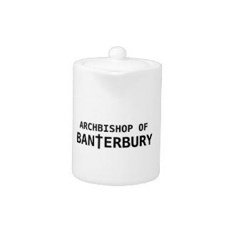 Archbishop of Banterbury 2 Teapot