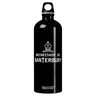 Archbishop of Banterbury Banter Merchant Aluminum Water Bottle
