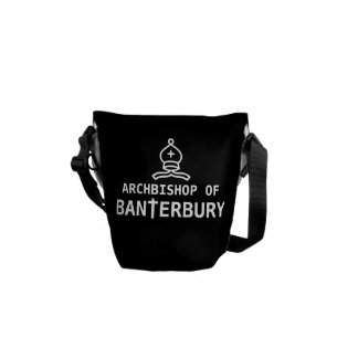 Archbishop of Banterbury Banter Merchant Gift Courier Bag