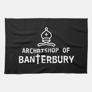Archbishop of Banterbury Banter Merchant Gift Hand Towels