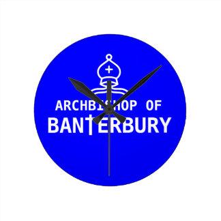Archbishop of Banterbury Banter Merchant Gift Round Clock