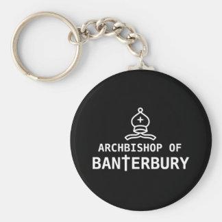 Archbishop of Banterbury Basic Round Button Keychain