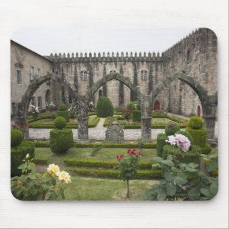 Archbishop Palace Of Braga With Garden Mouse Pad