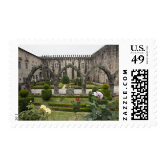 Archbishop Palace Of Braga With Garden Stamps