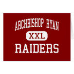 Archbishop Ryan - Raiders - High - Philadelphia Cards