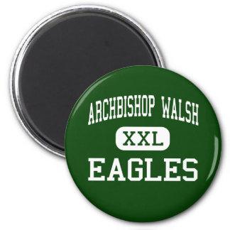 Archbishop Walsh - Eagles - High - Olean New York 2 Inch Round Magnet