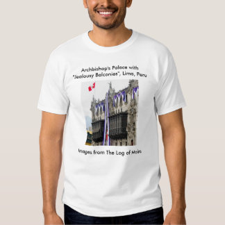 """Archbishop's Palace with """"Jealousy Balconies"""" Lima T Shirt"""