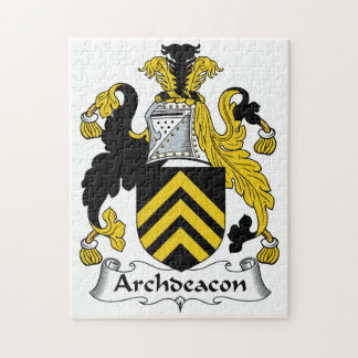 Archdeacon Family Crest Jigsaw Puzzles