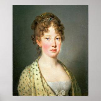 Archduchess Leopoldina of Austria Poster