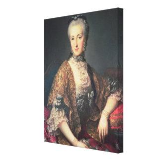 Archduchess Maria Anna Habsburg-Lothringen Gallery Wrapped Canvas