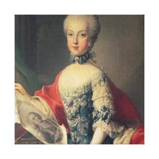 Archduchess Maria Carolina Canvas Prints