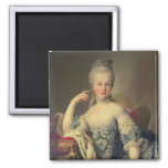 Archduchess Marie Antoinette 2 Inch Square Magnet
