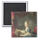Archduchess Marie Antoinette Habsburg-Lothringen 2 Inch Square Magnet
