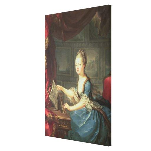 Archduchess Marie Antoinette Habsburg-Lothringen Canvas Print
