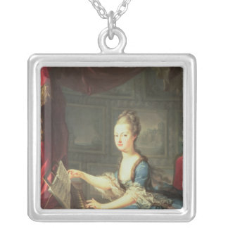 Archduchess Marie Antoinette Habsburg-Lothringen Silver Plated Necklace