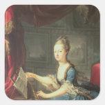 Archduchess Marie Antoinette Habsburg-Lothringen Square Sticker