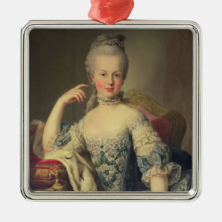 Archduchess Marie Antoinette Metal Ornament