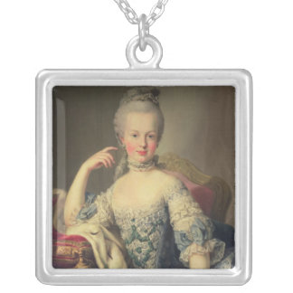 Archduchess Marie Antoinette Silver Plated Necklace