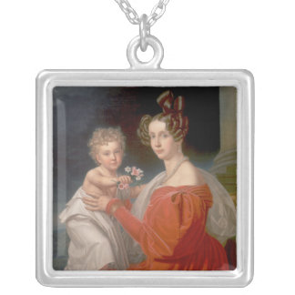 Archduchess Sophia of Austria Silver Plated Necklace
