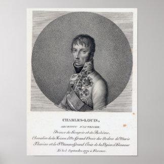 Archduke Charles of Austria Poster