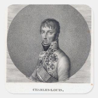 Archduke Charles of Austria Square Sticker