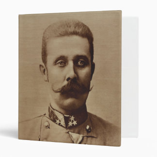 Archduke Franz Ferdinand of Austria Vinyl Binder