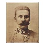 Archduke Franz Ferdinand of Austria Canvas Print