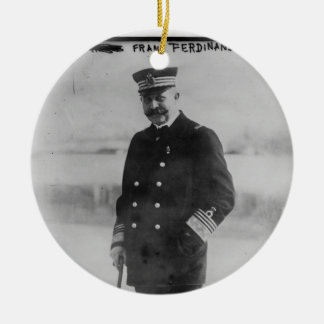 Archduke Franz Ferdinand of Austria Ceramic Ornament