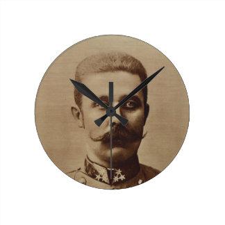 Archduke Franz Ferdinand of Austria Round Clock