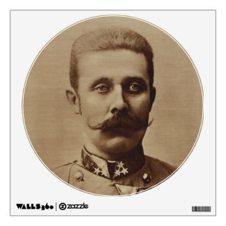 Archduke Franz Ferdinand of Austria Wall Decal