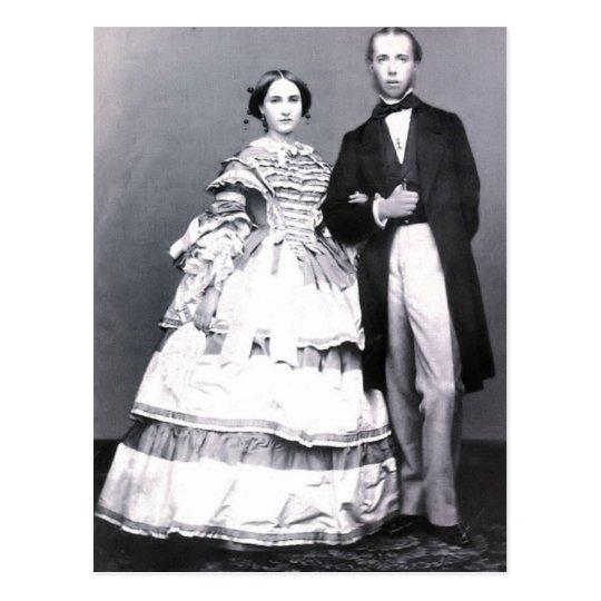 Archduke Maximilian & Charlotte of Austria #022M Postcard