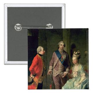 Archduke Maximilian Franz visiting Marie Pinback Button