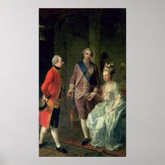 Archduke Maximilian Franz visiting Marie Poster