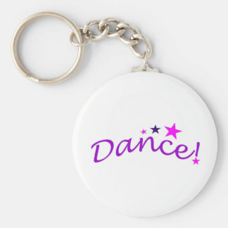 Arched Dance with Stars Key Chains