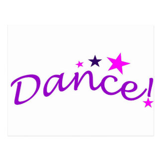 Arched Dance with Stars Post Cards