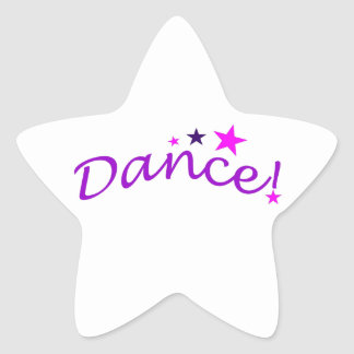 Arched Dance with Stars Star Sticker