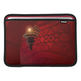 Arched entrance and illuminated lantern MacBook air sleeve