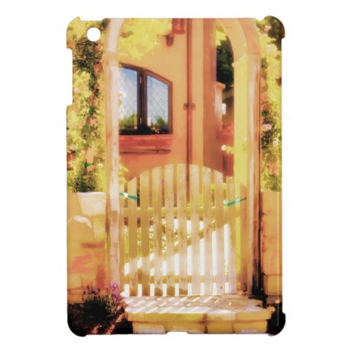 Arched Gate with Steps iPad Mini Case