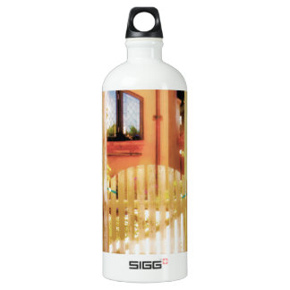 Arched Gate with Steps Water Bottle