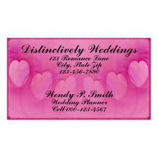 Arched Heart Line Double-Sided Standard Business Cards (Pack Of 100)