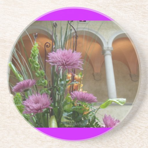 Arched Mums Coaster