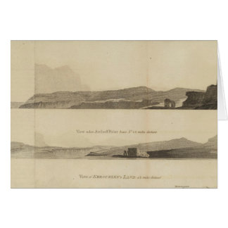 Arched Point, Kerguelen's Land Card