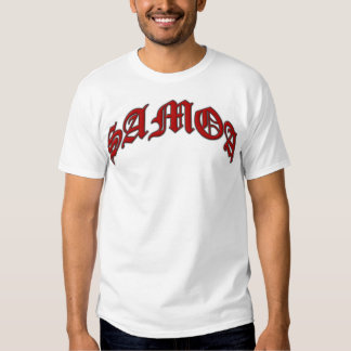 Arched SAMOA Red Shirt
