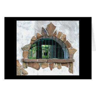 Arched Stone Window ©2008 Card