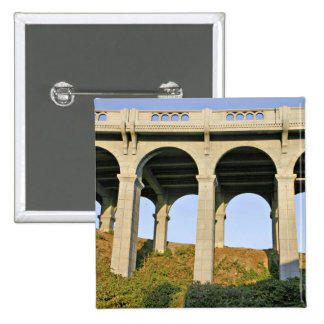 Arched supports Patterson Memorial Bridge Button