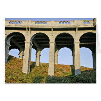 Arched supports Patterson Memorial Bridge Greeting Card